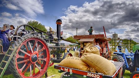 Steam day at Bardwell. Picture: BARRY PULLEN