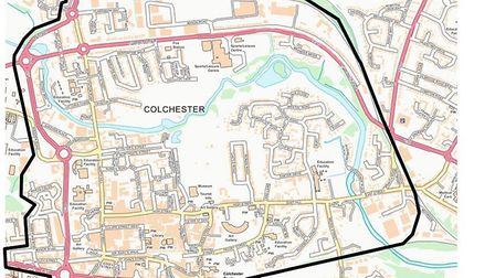 A dispersal order has been issued for Colchester town centre until Monday. Picture: ESSEX POLICE