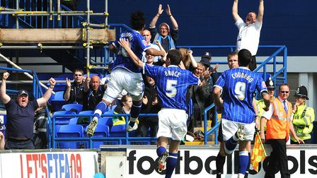 Giovani Dos Santos celebrates his goal the last time Ipswich beat Norwich back in 2009. Picture: A
