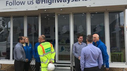 Highways England is bringing roadshows to the region. Picture; HIGHWAYS ENGLAND