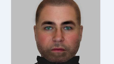 Police have released an e-fit of a man they would like to speak to in connection with the incident.