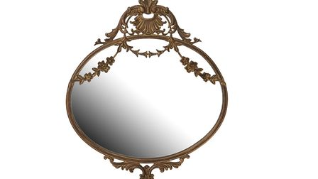 Vintage Floral Swag Gold Wall Mirror, Historic Royal Palaces.Picture credit PA Photo/Handout.