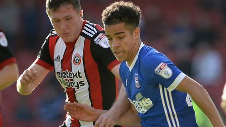Tristan Nydam has been called up to England's Under 19 squad. Picture Pagepix
