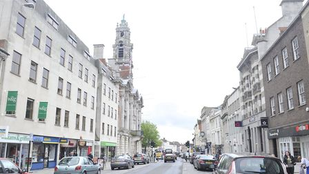 The attack happened in Colchester High Street. File picture: SU ANDERSON