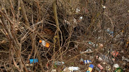 Waste is often found beside the A14. File Picture: SARAH LUCY BROWN.