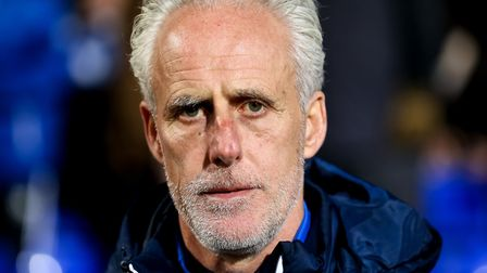 Ipswich Town manager Mick McCarthy is out of contract this summer. Photo: Steve Waller