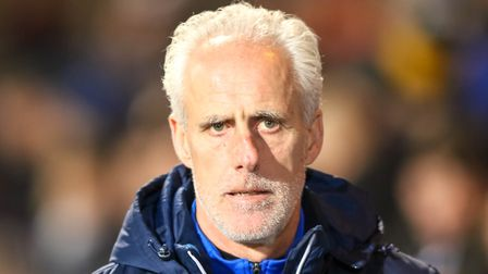 Town manager Mick McCarthy was defiant following his side's loss to Hull. Picture: Steve Waller