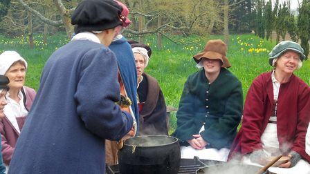 Tudor Eastertide at Kentwell Hall in Long Melford. Picture: ANDREW MUTIMER