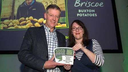 Tim Briscoe of Buxton Potatoes, county winner for Norfolk in the Co-op Producer of the Year awards 2