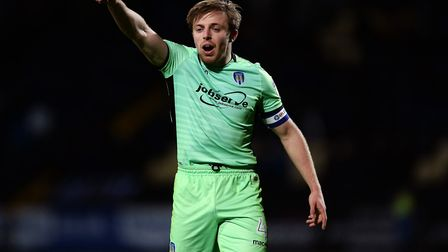 Colchester United's Tom Lapslie, who has stressed the importance of the next eight days for the U's.