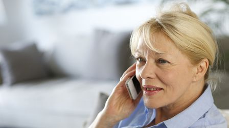 The scammers are calling people pretending to be from HMRC. Picture: GETTY IMAGES
