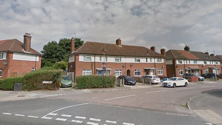 The robbery happened in Raeburn Road, Ipswich. Picture: GOOGLE