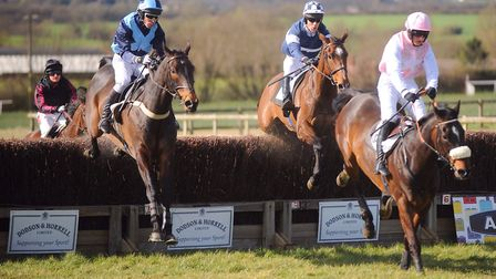 Racing goes at High Easter this weekend. on soft ground. Picture: GREGG BROWN