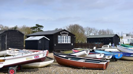 Orford Quay. Picture: SARAH LUCY BROWN