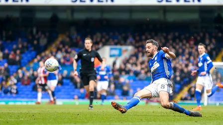 Cole Skuse returns to former club Bristol City this weekend. Picture: STEVE WALLER