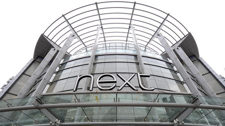 Next is expected to report a drop in full year profits this week. Photo: Martin Rickett/PA