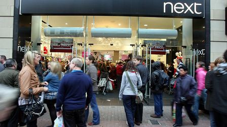 Clothes retailer Next has not been immune to the tough trading conditions on the high street. Phot