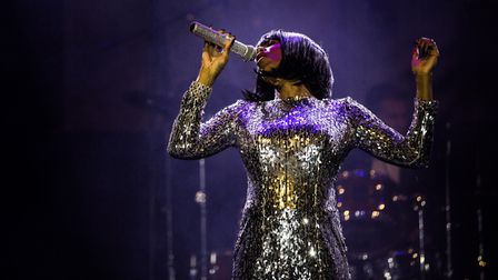 Shanice Smith as Whitney Houston. Picture: DAVID A LEE