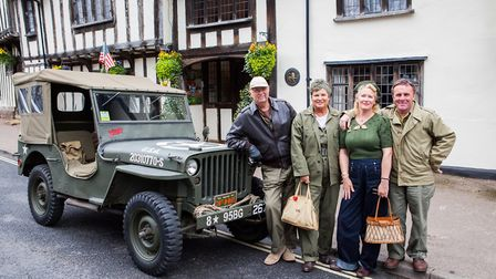 The Lavenham Vintage Weekend will take place from May 18-21. Picture PAUL MACRO PHOTOGRAPHY