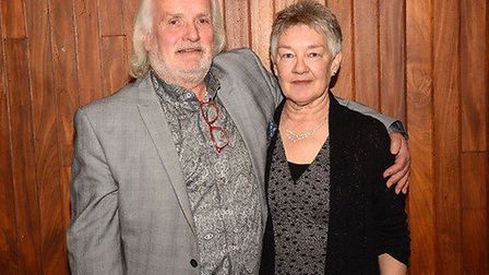 Graham and Gwen Hardy. Picture: MOORE GREEN