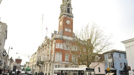 The incident happened in Colchester High Street. File picture: SU ANDERSON