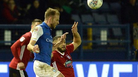 Jordan Rhodes is stopped by Cameron Carter-Vickers at Hillsborough recently. Picture Pagepix