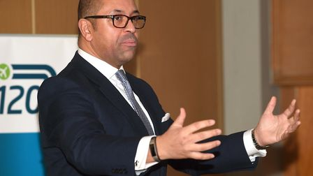 James Cleverly, MP for Braintree. Picture: PAGEPIX