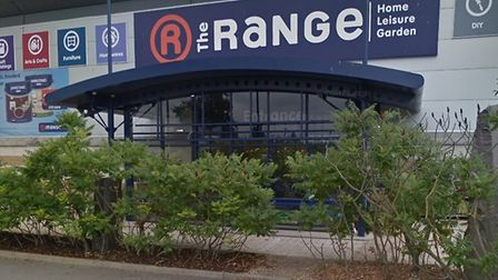The Range in Ipswich. A brand new store is opening in Bury St Edmunds. Picture: GOOGLE MAPS