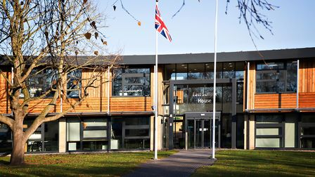 East Suffolk House where the youth forum will take place. Picture: RUTH LEACH