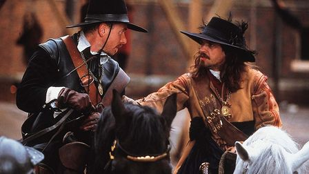 Tim Roth as Oliver Cromwell and Dougray Scott as Thomas Fairfax in To Kill A King, a look at the dow
