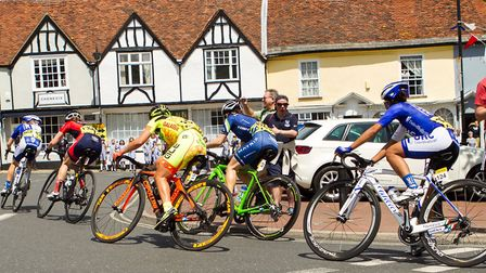 Women's Cycling Tour coming through Woodbridge in June 2016 - will the roads be as clear as this in