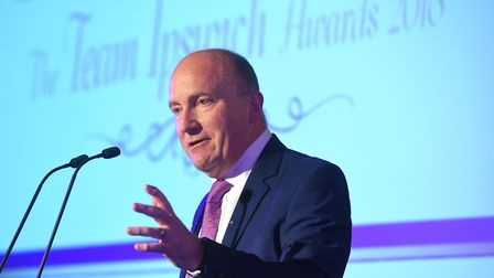 Nick Hulme, chief executive of Ipswich and Colchester hospitals. Picture: PAGEPIX