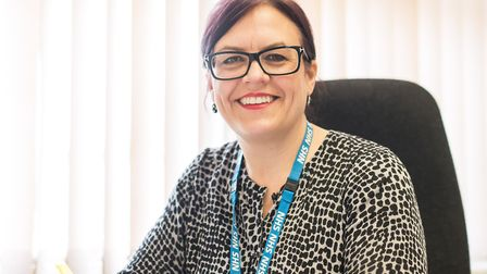 Dawn Collins, director of nursing, quality and patient safety at Norfolk and Suffolk NHS Foundation