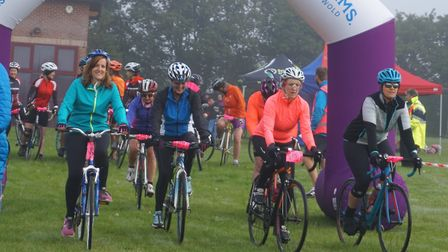 Women on Wheels is returning to Sudbury in September. Picture: SOUTH SUFFOLK LEISURE