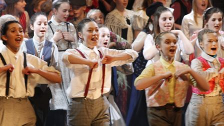 Oliver! at Thurston Community College was a sell-out success. Pictures: VIC SPOFFORTH AND CAROLANNE