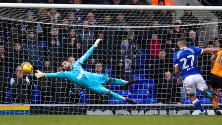 Bialkowski's stunning form for the Blues has earned him the call-up. Picture: Steve Waller
