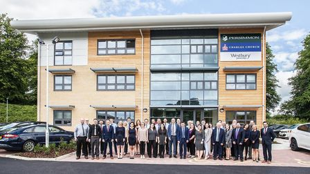 The team at Persimmon Homes Anglia has chosen Meningitis Now as its 2018 nominated charity