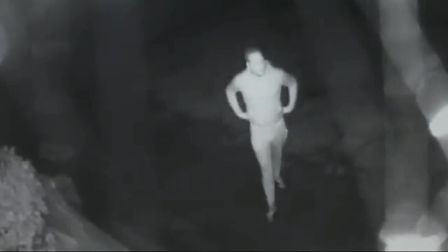 Police would like to speak with the man pictured in the footage. Picture: ESSEX POLICE