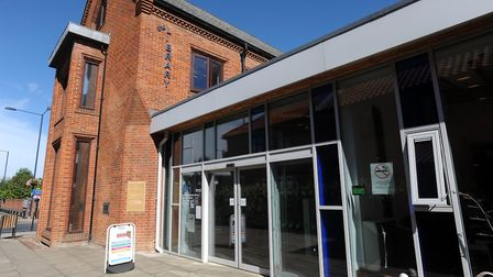The incident is said to have happened at Bury St Edmunds library. Picture: PHIL MORLEY