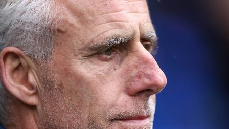 Town manager Mick McCarthy is out of contract at the end of the season. Picture: Steve Waller
