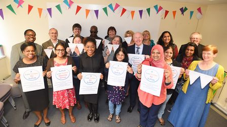 The launch of the campaign to raise �40k to open a law centre in Suffolk for people who can not affo