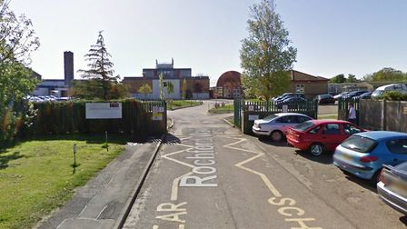 Students at Tendring Technology College refused to attend lessons in protest of the planned cuts. Pi