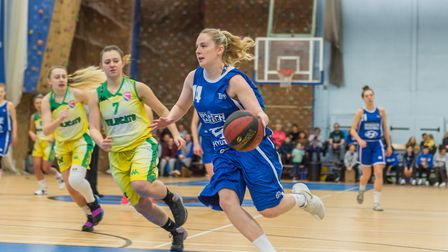 Harriet Welham is one of the stars of Ipswich Basketball. Picture: PAVEL KRICKA