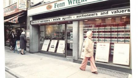 Fenn Wright, Colchester branch in the 1970s.