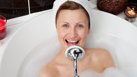 After your spring clean relax in your cleaner bathroom. Picture:Thinkstock/PA.