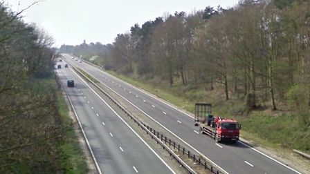 The A12 at Dedham. Picture: GOOGLE MAPS