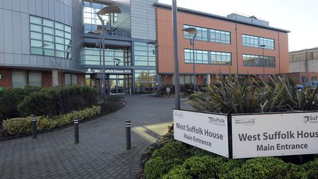 West Suffolk House (Council Offices) in Bury. Picture: PHIL MORLEY