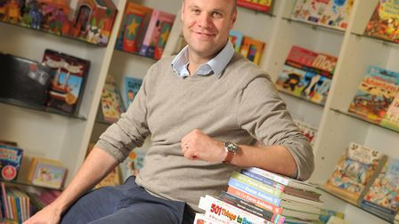 David Henderson, managing director of Imagine That Publishing in Woodbridge. Picture: SARAH LUCY BR
