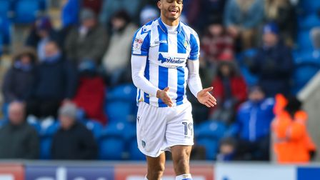 Striker Mikael Mandron, reacting after a missed opportunity during the U's last outing, a 1-0 home d