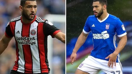 Cameron Carter-Vickers started the season at Sheffield United but is now wearing Ipswich blue. Pictu